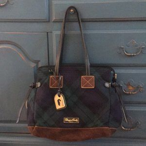 Dooney & Bourke Wool Tartan Shoulder Bag